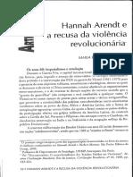VALLE, M. R. Hannah Arendt e a recusa da violência revolucionária.pdf