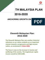 Topic 2 - 11th Malaysian Plan