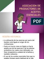 Asociacion de Productores de Aceites Esenciales