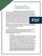 Antropología Bíblica - cual es el papel del hombreen la tierra.pdf