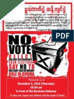 Boycott 2010 Election