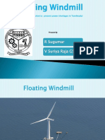 Floating Windmill Powerpoint