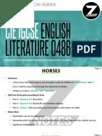 Cie Igcse Englishliterature 0486 Poetry1 v1 Znotes