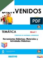 Presentación Estrategias de Enseñanza Aprendizaje Herramientas