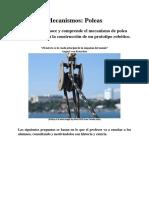 Mecanismos y Poleas