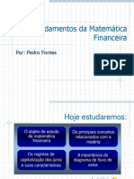 Fundamentos da matematica Financeira