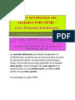 Petite Introduction au HTML