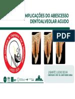 LIGA LADO - Complicações Do Abscesso Dentoalveolar Agudo