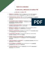 Selección y Utilización GR115