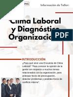 Taller de Clima Laboral y Diagnóstico Organizacional