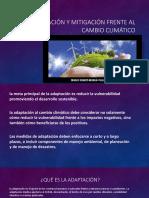 Adaptación y mitigación frente al Cambio Climático.pptx