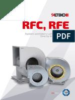 Ventiladores centrifugos-Alteco