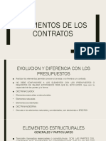 Elementos del Contrato.