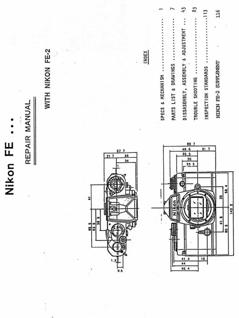 nikon_fe+fe2 Repair Manual.pdf
