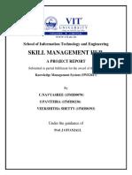 Skill Managemnet Hub