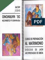 Cuaderno Cursillo Prematrimonial