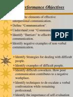 Interpersonal Communication Powerpoint - NDOC