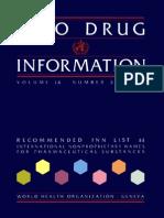 WHO drug information 2000