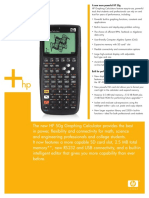 HP 50g Overview Datasheet