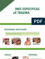 Situaciones Especificas de Trauma - Urgencias Diapositivas