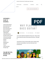 Why Play The Bass Guitar_ The different types of bass player.pdf