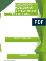 Especialización y Actualización en Costos y Presupuestos en s10