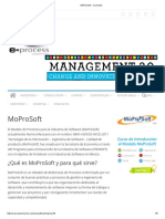 MoProSoft – E-process