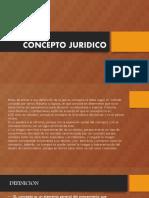 CONCEPTO JURIDICO