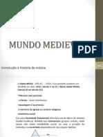 Mundo Medieval Int a Hist Mus