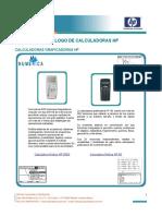 Catálogo Calculadoras Gráficas