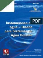 267148875 Norma Boliviana 689 de AguaPotable