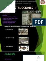 Exposicion de Calzaduras, Cimentaciones y Maquinarias Construcciones i