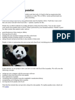 Using Excel With Pandas