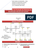 Coordenação de Proteção de Sistemas de Distribuição Através de Elos Fusíveis
