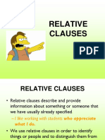 Relative Clauses Ppt