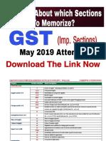 Imp Sections to Memorise - GST (CA Kishan, AIR) - uploaded.pdf