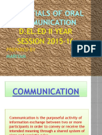 Essentials of Oral Communication (1)