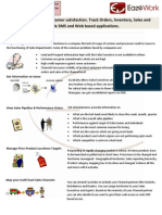 Sales and Channel Management Brochure