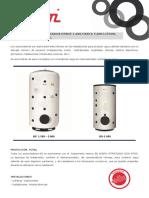 Acumulador - Catalogo Vitrificado Elbi 1000-5000