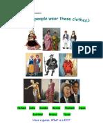 Clothes Didactic Unit