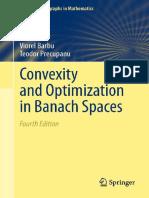 Barbu V., Precupanu T. Convexity and optimization in Banach spaces (4ed., Springer, 2012)(ISBN 9789400722460)(O)(381s)_MOc_.pdf