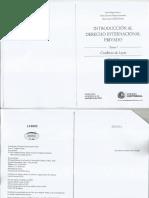 Derecho Internacional Privado - Primera Lectura