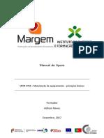 Manual_UFCD 4742 – Manutenção de Equipamentos - Princípios Básicos