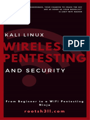 Wireless-Pentesting-and-Security pdf   Booting   Usb Flash Drive