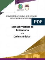 Manual de prácticas de Química Básica I
