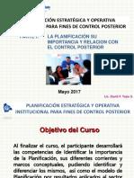 Presentación Plan Est y Op 2017