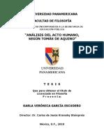el acto humano Tomás de Aquino.pdf