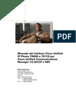 Cisco 7911g Manuale Utente New