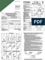60003 Arnes Anticaidas P30 Instrucciones de Uso