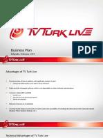 TV Turk Live Business Plan ENG